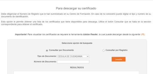 Cómo descargar el certificado digital SENA