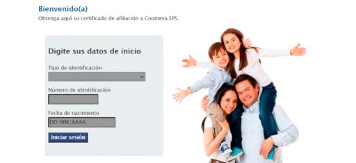 certificado Coomeva EPS
