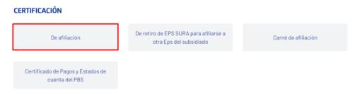 certificado eps sura