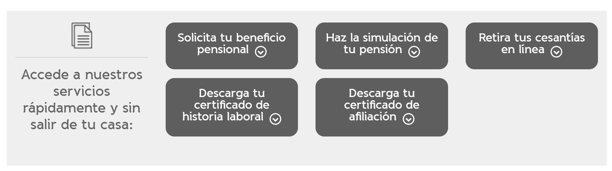 como obtener el certificado porvenir