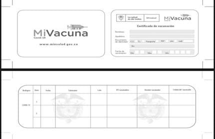 carnet de vacunacion colombia