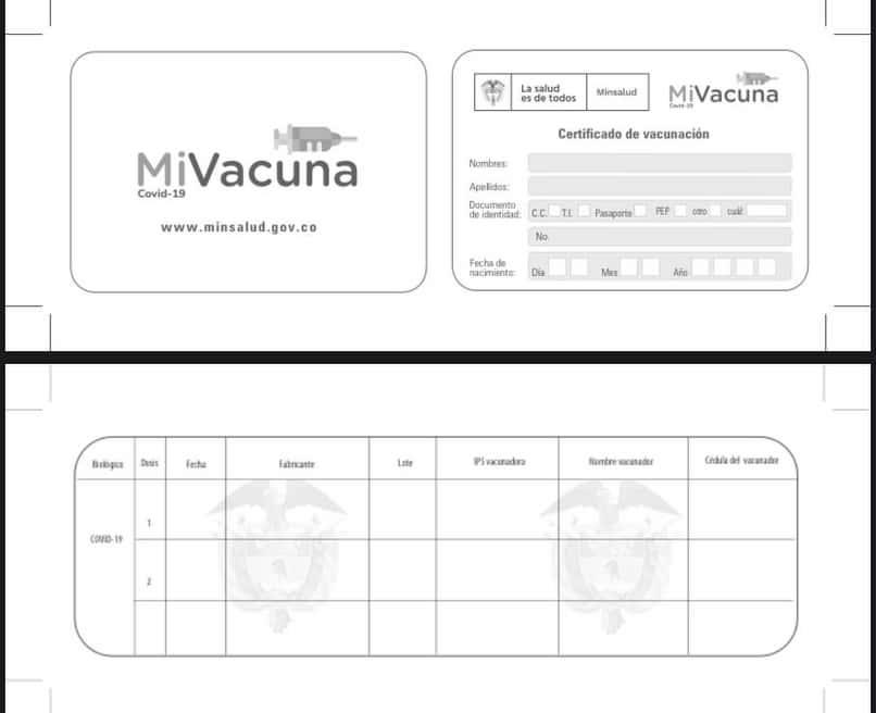 certificado vacunacion covid